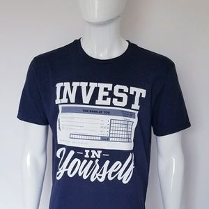 Tops - Invest In Yourself T shirt